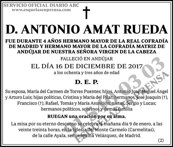 Antonio Amat Rueda